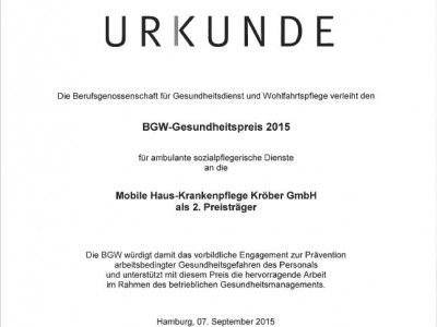 Preisverleihung BGW Gesundheitspreis urkunde-bgw.jpg